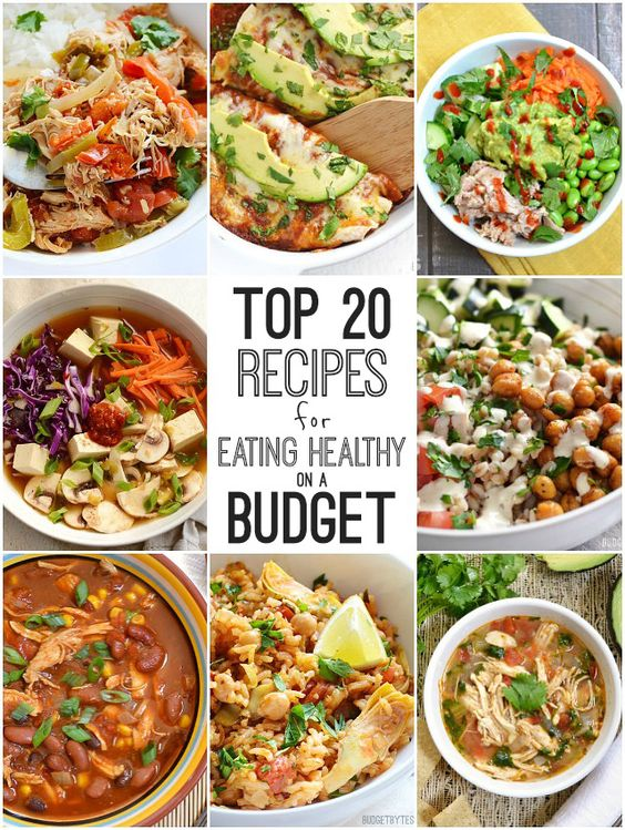Healthy Meal Planning On A Budget The Center For Health And